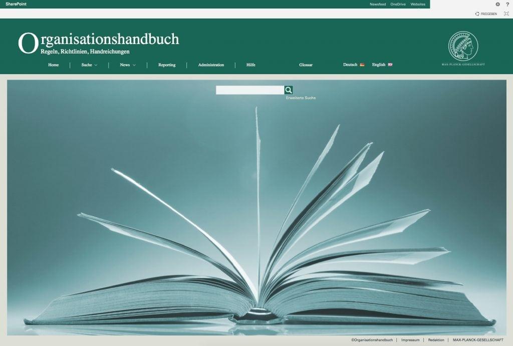 Einführung eines zentralen Richtlinienmanagements bei der Max-Planck-Gesellschaft