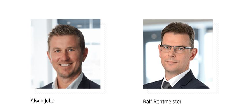 Alwin Jobb und Ralf Rentmeister verantworten bei Q_PERIOR die neue Kernbranche Energiewirtschaft