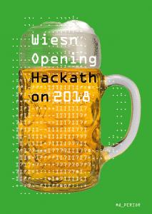 Flyer Wiesn-Opening Hackathon