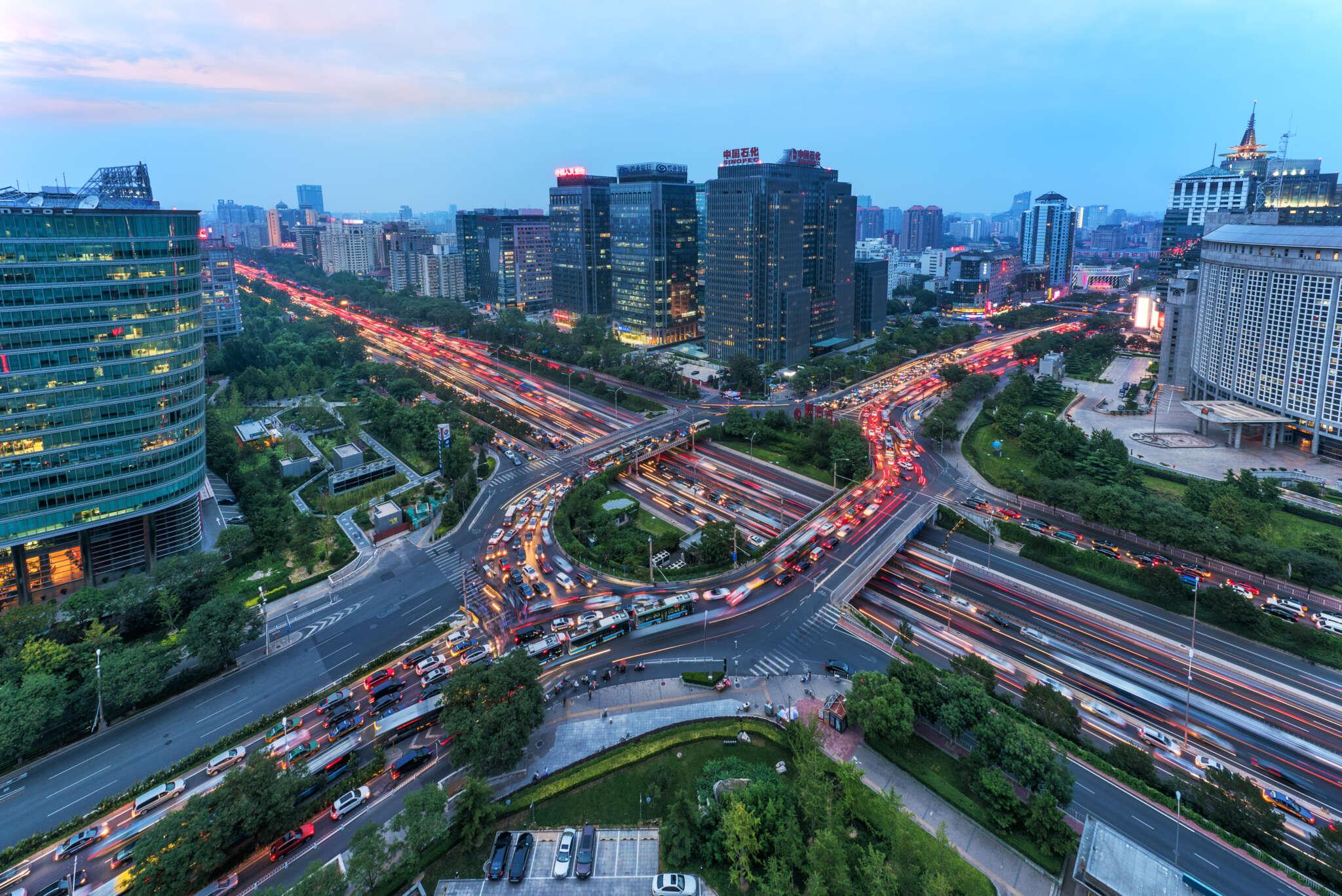 Chinas Städte sind dem Verkehrsaufkommen nicht mehr gewachsen