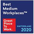 Great Place to Work Auszeichnung Schweitz EN